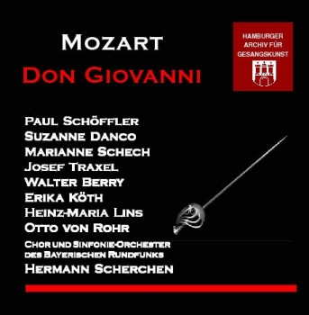 Mozart - Don Giovanni in German language (2 CDs)