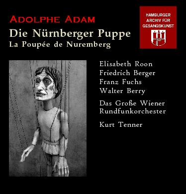 Adam Adolphe Vocal The Cd Doll1 Nuremberg jMGpLqUSzV