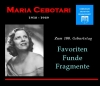 Maria Cebotari - Favoriten, Funde & Fragmente (2 CD)