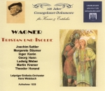 Wagner : Tristan und Isolde - Complete Recording 1938 (3 CDs)